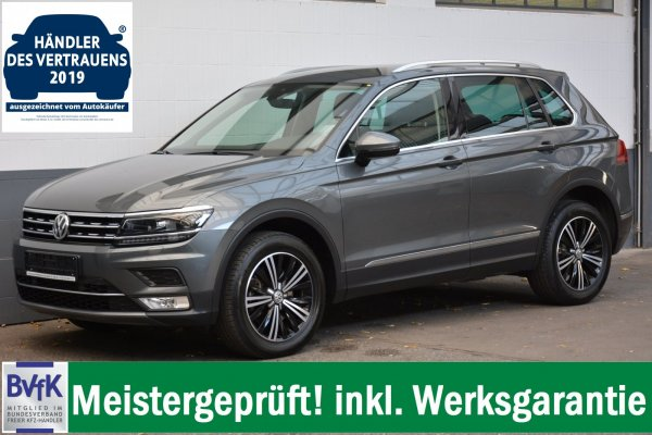 VW Tiguan 2.0 TDI Highline 4 Motion