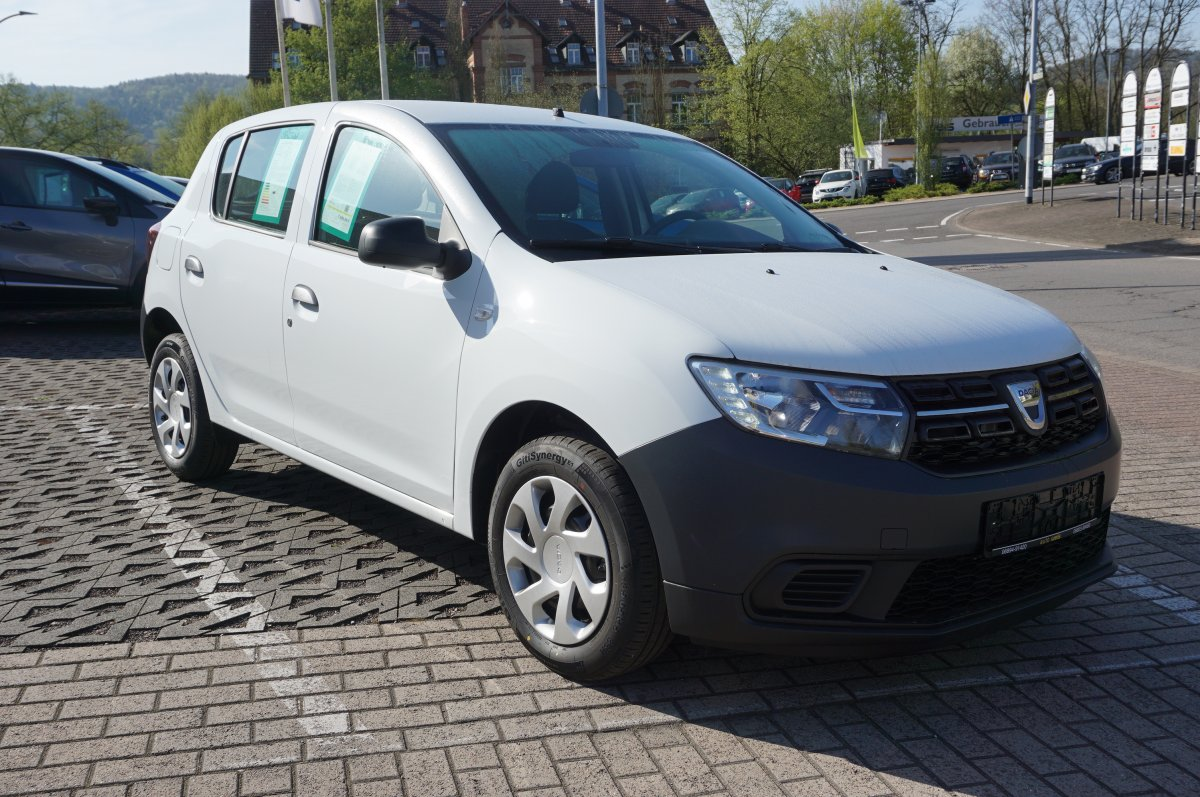 dacia sandero sce 75 access dacia auto weis gmbh st ingbert. Black Bedroom Furniture Sets. Home Design Ideas